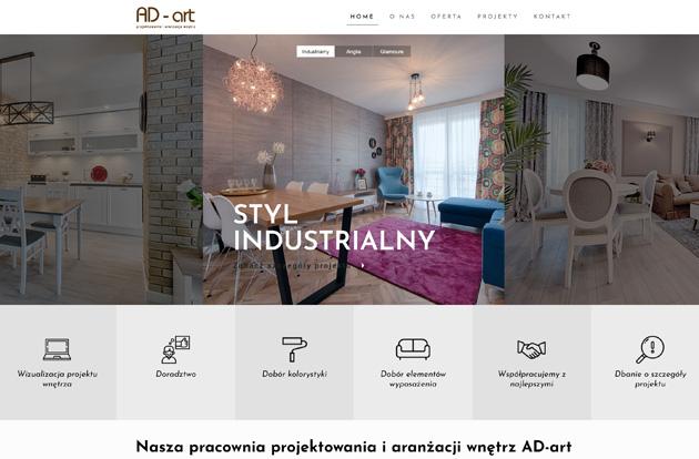 Strony internetowe - projektowanie